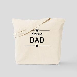 Yorkie Dad Tote Bag