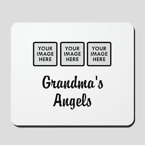 CUSTOM Grandmas Angels - 3 Grandkids Mousepad