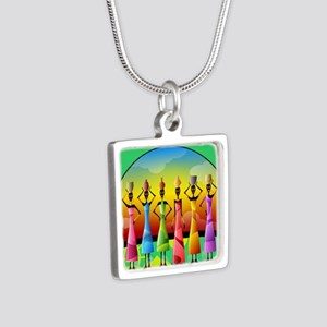 African American Wome Necklaces