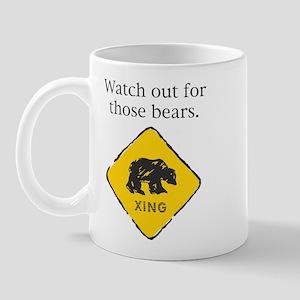 Watch out for Bears Mug