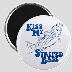 Kiss My Bass Magnet
