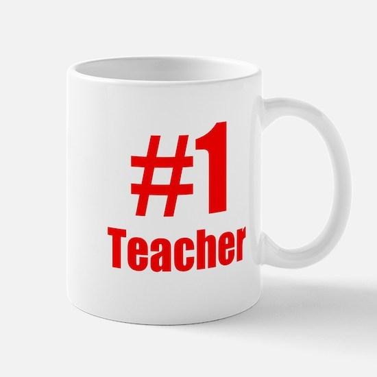 Number 1 Teacher Mugs