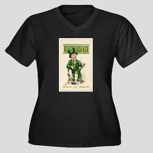 St patricks Day Plus Size T-Shirt