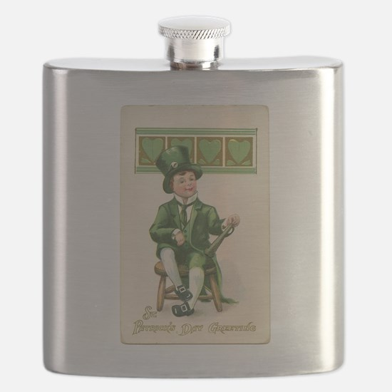 St patricks Day Flask