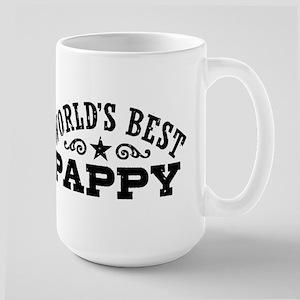 World's Best Pappy Large Mug