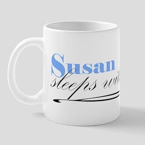Susan Sleeps With Dogs Mug