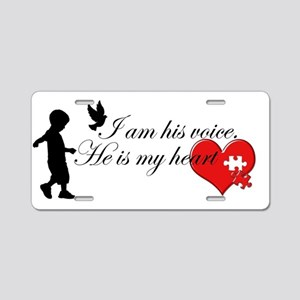Autism Awareness Aluminum License Plate