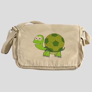 Soccer Turtle Messenger Bag