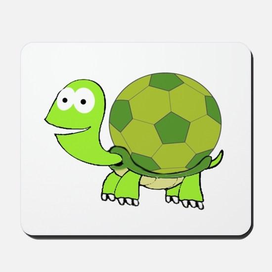 Soccer Turtle Mousepad