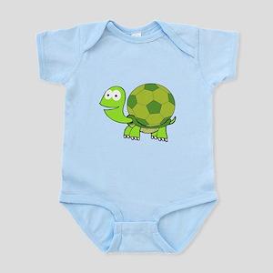 Soccer Turtle Infant Bodysuit