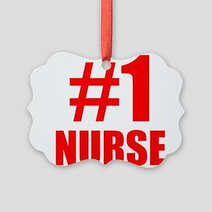 Number 1 Nurse Ornament