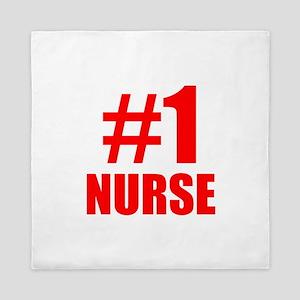 Number 1 Nurse Queen Duvet