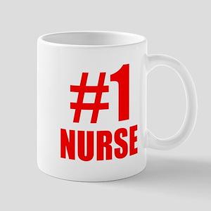 Number 1 Nurse Mugs
