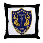USS GLENARD P. LIPSCOMB Throw Pillow