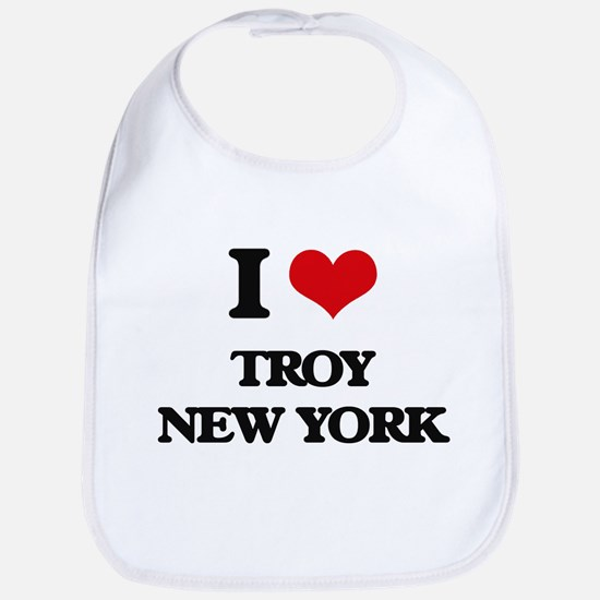 I love Troy New York Bib
