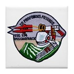 USS GRAYBACK Tile Coaster