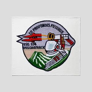 USS GRAYBACK Throw Blanket