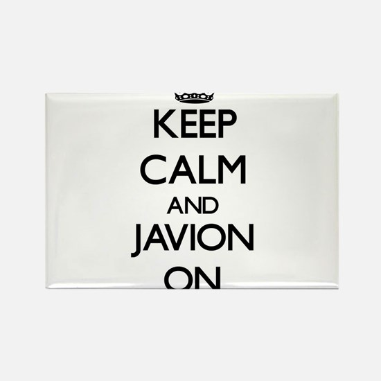 Keep Calm and Javion ON Magnets