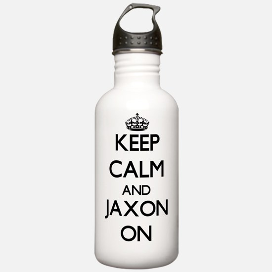 Keep Calm and Jaxon ON Water Bottle