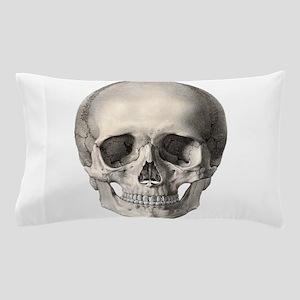 Vintage Human Skull Pillow Case