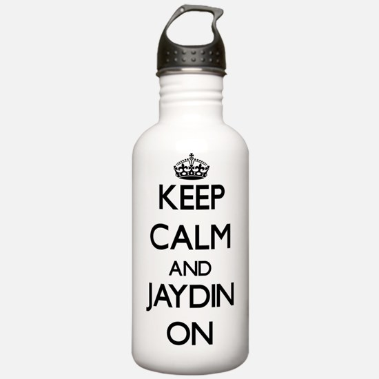 Keep Calm and Jaydin O Water Bottle