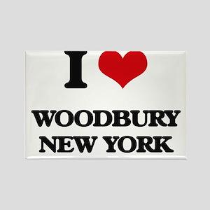 I love Woodbury New York Magnets