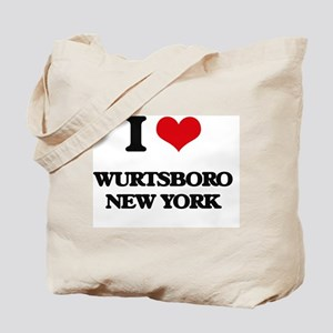 I love Wurtsboro New York Tote Bag