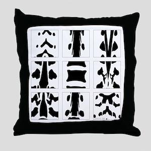 Vertebral Collage Throw Pillow