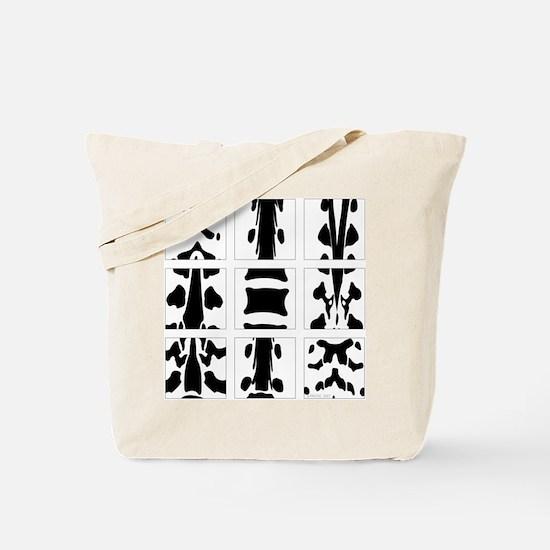 2-Sided Vertebral Collage Tote Bag