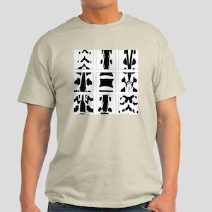 Vertebral Collage Light T-Shirt