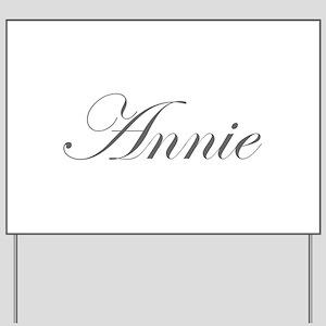 Annie-Edw gray 170 Yard Sign