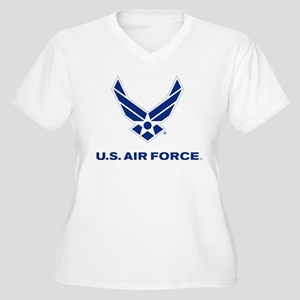 U.S. Air Force Lo Women's Plus Size V-Neck T-Shirt