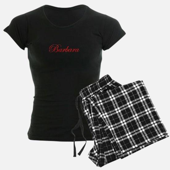 Barbara-Edw red 170 Pajamas