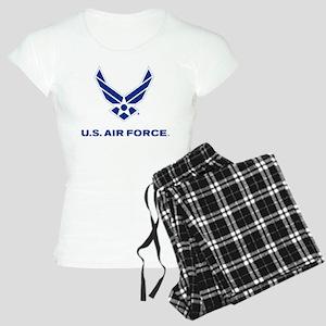 U.S. Air Force Logo Women's Light Pajamas