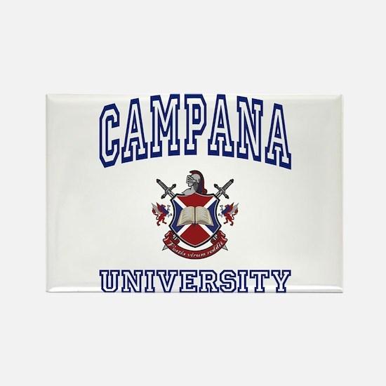 CAMPANA University Rectangle Magnet