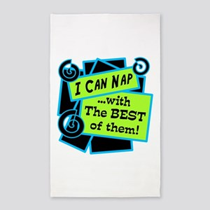 I Can Nap Area Rug