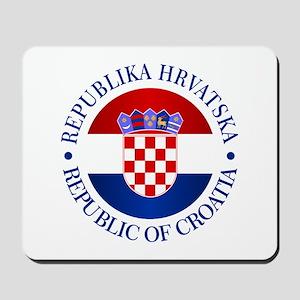 Croatia (rd) Mousepad