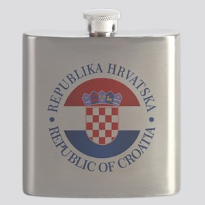 Croatia (rd) Flask
