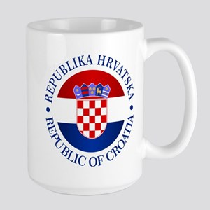Croatia (rd) Mugs