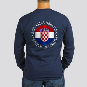 Croatia (rd) Long Sleeve T-Shirt