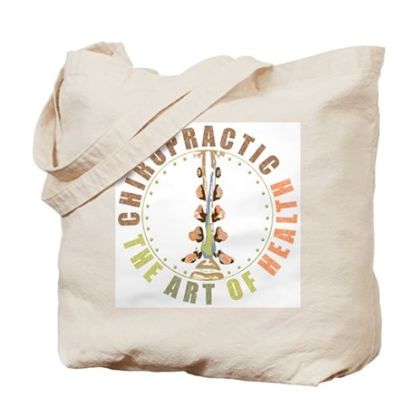 Chiropractic - Art of Health 2-sided Tote Bag