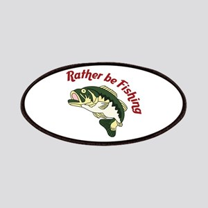 RATHER BE FISHING Patch
