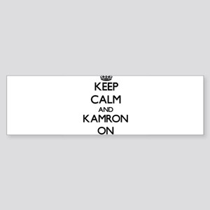 Keep Calm and Kamron ON Bumper Sticker