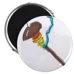 Rainbow Spindle Lg Magnets