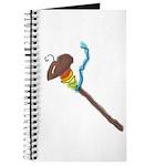 Rainbow Spindle Lg Journal