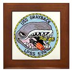 USS GRAYBACK Framed Tile