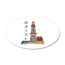 MAINE LIGHTHOUSE Wall Decal