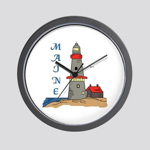 MAINE LIGHTHOUSE Wall Clock
