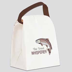 THE TROUT WHISPERER Canvas Lunch Bag