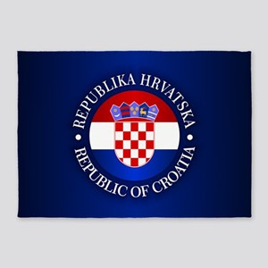 Croatia (rd) 5'x7'Area Rug